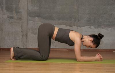 Гимнастика для беременных коленно-локтевая 18