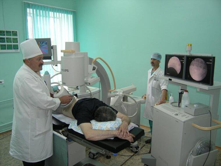 Аппарат литотрипсии