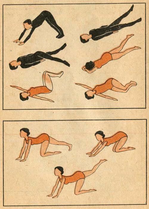 Комплекс физических упражнений при опущении почек