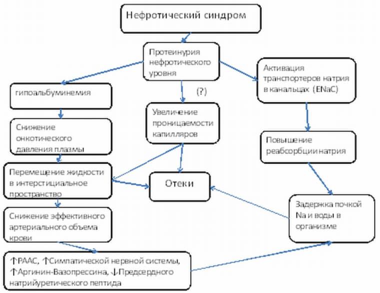 Схема синдрома