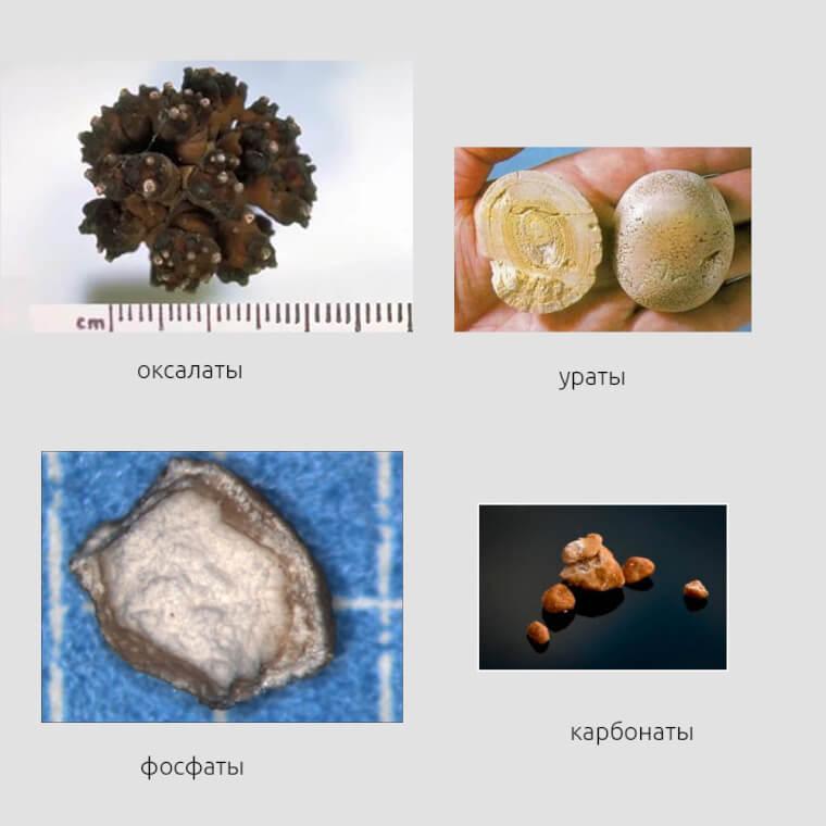 Разновидности камней