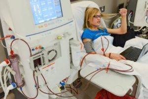 лечение почечной недостаточности с помощью аппарата